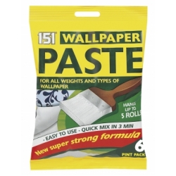151 WALLAPAPER PASTE 6PNT EACH