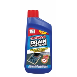 OUTDOOR DRAIN CLEANER 500ML