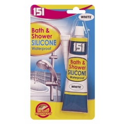 BATH & SHOWER SILICON (WHITE) 70G