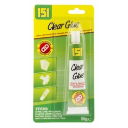 CLEAR GLUE 50G