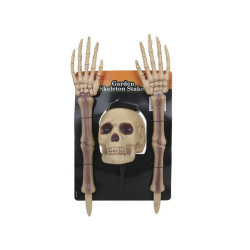 3PC GARDEN SKELETON HALLOWEEN DECOR