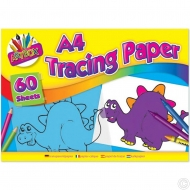 60 SHEETS A4 TRACING PAPER PAD