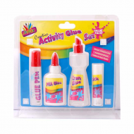 CREATIVE ACTIVITY GLUE SET 4PCS
