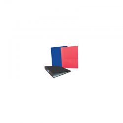 A4 RINGBINDER BLK/BLUE/RED