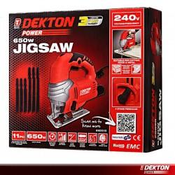 DEKTON POWER 240V 650W JIGSAW - 11PCS