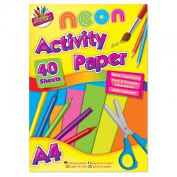 40 SHEETS A4 ACTIVITY PAPER