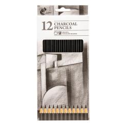CHARCOAL PENCILS 12PK