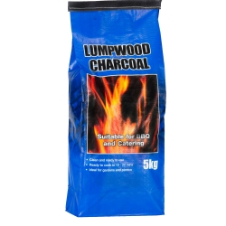 LUMPWOOD  BBQ CHARCOAL 5KG BAG