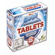DUZZIT 5IN1 DISHAWASHER TABLETS 12PK