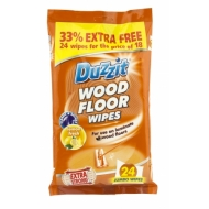 WOOD FLOOR WIPES 24PK