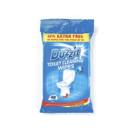 DUZZIT TOILET CLEANING WIPES 40S