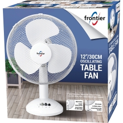 "40W 12""/30CM OSCILLATING TABLE FAN"