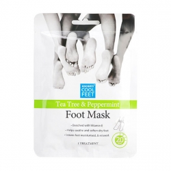 TEA TREE & PEPPERMINT FOOT MASK