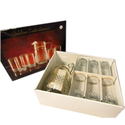 GOLDEN ENTERTAINER 7PC WATER SET
