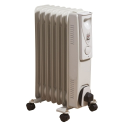 DAEWOO 7FIN OIL RADIATOR 1500W WHITE