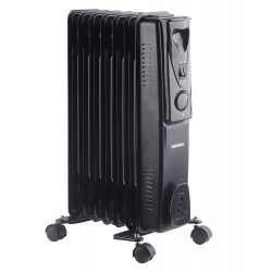 DAEWOO 7FIN OIL RADIATOR 1500W BLACK