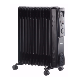 DAEWOO 11FIN OIL RADIATOR 2500W BLACK