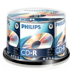 Philips CD-R 80Min 700MB 52x 50SP