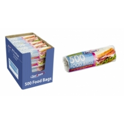500 FOOD BAGS (ON ROLL)