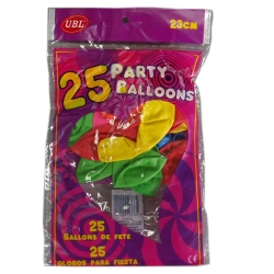 25PCS HAPPY BIRTHDAY BALLOONS
