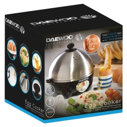 360W COMPACT EGG & OMELETTE COOKER WITH STEAM VENTS
