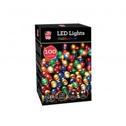 100 LED CHASER LIGHTS - MULTICOLOUR