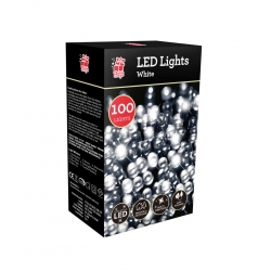 100 LED CHASER LIGHTS - WHITE