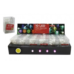 10 LED MINI BERRY LIGHTS B/O