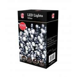1000 LED CHASER LIGHTS C/WHITE