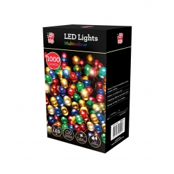 1000 LED CHASER LIGHTS - MULTI