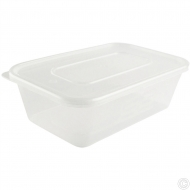 1000CC PLASTIC CONTAINERS+LID 4PK
