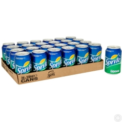 SPRITE CAN DRINK  330ml x  24 CANS
