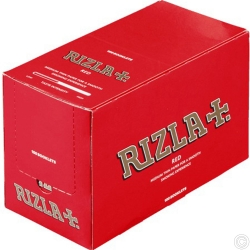 RIZLA RED STD ROLLING PAPER 100s