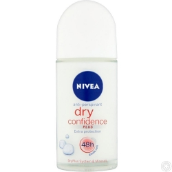 NIVEA DEODORANT ROLL ON 50ML - DRY CONFIDENCE