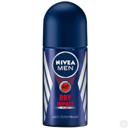 NIVEA DEODORANT ROLL ON 50ML - DRY IMPACT