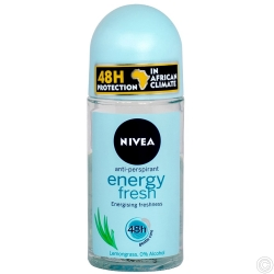 NIVEA DEODORANT ROLL ON 50ML - ENERGY FRESH