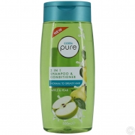 CUSSONS PURE SHOWER GEL 500ML - APPLE & PEAR