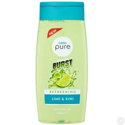 CUSSONS PURE SHOWER GEL 500ML - REFERSHING