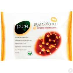 PURE 25 S CLEANING WIPES PACK - AGE DEFIANCE