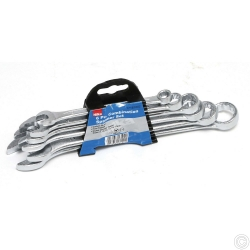 6 pce Combination Spanner Set Metric