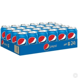 PEPSI CANs  330MLx24 CANS