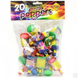 PARTY POPPER 20PCS