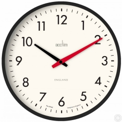 ACCTIM RILEY 30CM RETRO WALL CLOCK