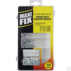MAXIFIX 70PC WING NUT