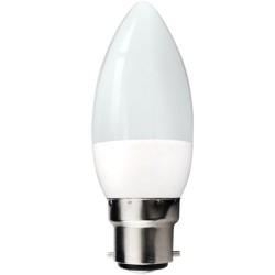 LED CANDLE BULB B22 6W 540LM 6000K 240V AC