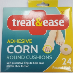 TREAT&EASE ADH CORN 18 OVAL PADS
