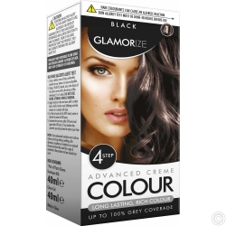 GLAMORIZE PERMANENT HAIR COLOUR - BLACK