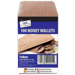 80 Money Wallets 70 x 105mm