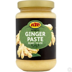 KTC GINGER PASTE 12x210G - NO VAT