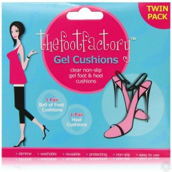 FOOT FACTORY GEL CUSHIONS 2PK